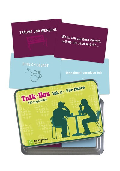 Talk Box | Für Paare (120 Fragekarten)