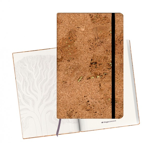 Notizbuch aus Kork «Corkskin»