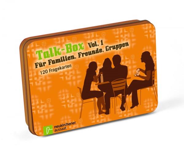 Talk Box | Für Familie, Freunde und Gruppen (120 Fragekarten)