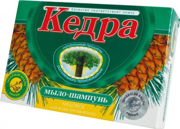 Seifen-Shampoo «Kedra» (Shampoo mit plastikfreier Verpackung)