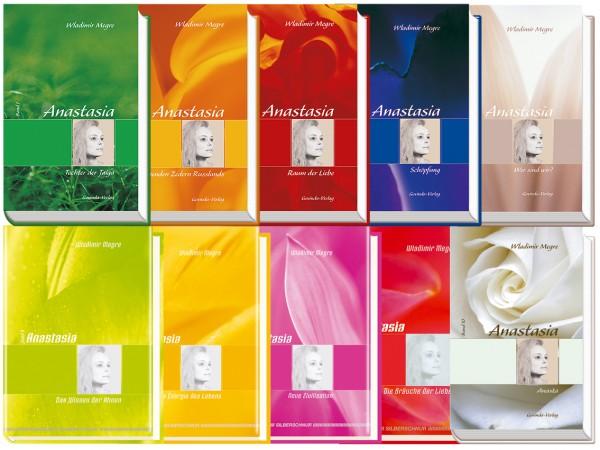 Anastasia-Reihe: Komplettset Bände 1-10